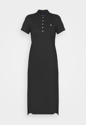 POLO DRESS - Denní šaty - black