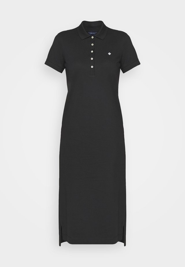 POLO DRESS - Hverdagskjoler - black