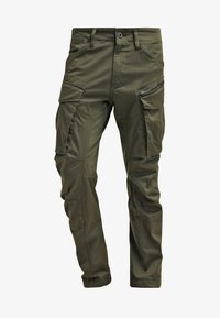 G-Star - ROVIC ZIP 3D STRAIGHT TAPERED - Pantalones cargo - dark bronze green - 6