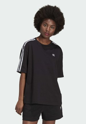 OVERSIZED ADICOLOR RELAXED - Print T-shirt - black