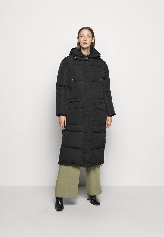 SNOWDY - Zimní kabát - black
