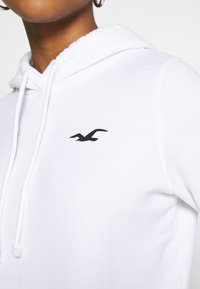 Hollister Co. - PRINT LOGO  - Hoodie - white - 3