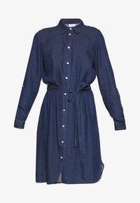 Vila - VIBISTA BELT DRESS - Shirt dress - dark blue - 4