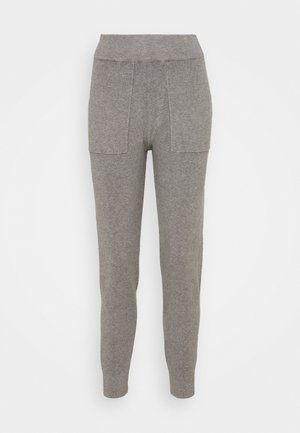 JOGGER  - Tracksuit bottoms - mid grey