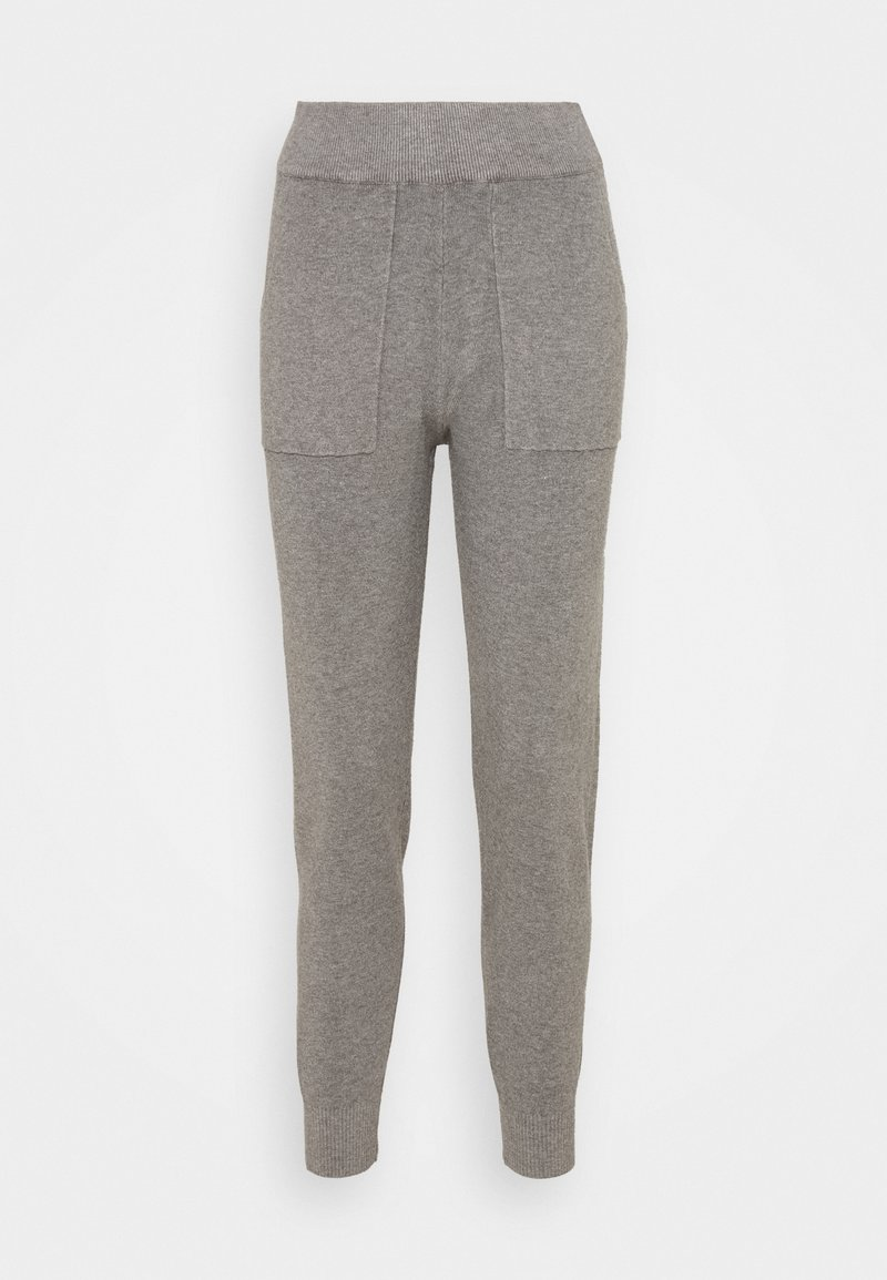 New Look - JOGGER  - Tracksuit bottoms - mid grey