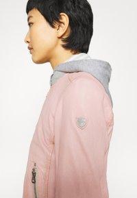 Gipsy - MOXI LULV - Leather jacket - rose - 5