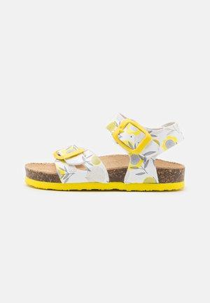 Sandals - bianco/limette