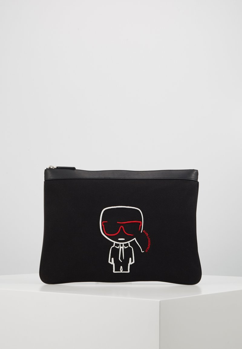 KARL LAGERFELD - IKONIK POUCH - Laptop bag - black