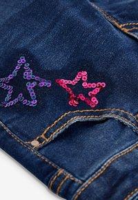 Next - SEQUIN EMBELLISHED - Straight leg jeans - blue - 2