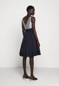 Lauren Ralph Lauren - MEMORY TAFFETA DRESS COMBO - Cocktail dress / Party dress - lighthouse navy - 2