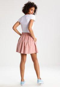 Moves - KIA - A-line skirt - adobe rose - 2