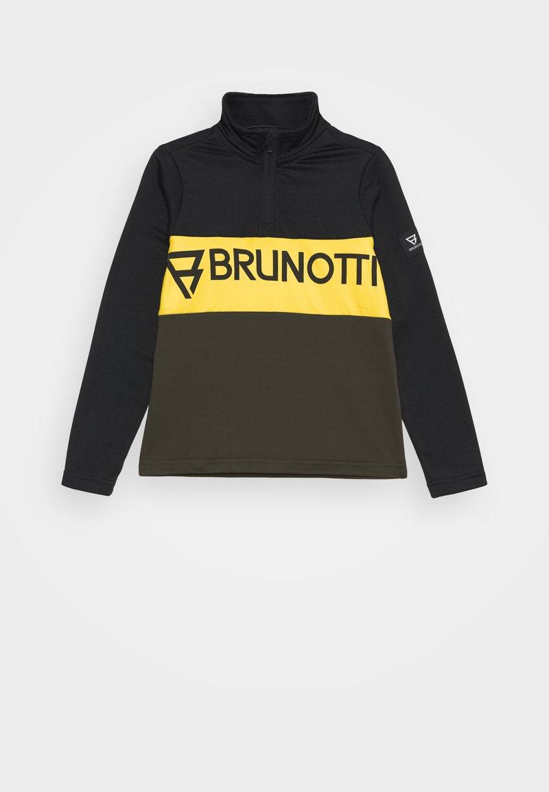 Brunotti - FRANK BOYS - Fleecepaita - black