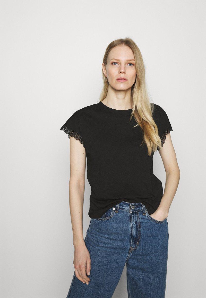 Anna Field - T-shirts - black