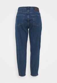 Pieces Curve - PCVERA RELAXED  - Relaxed fit jeans - medium blue denim - 6