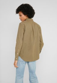 Polo Ralph Lauren - RELAXED LONG SLEEVE SHIRT - Button-down blouse - olive - 2