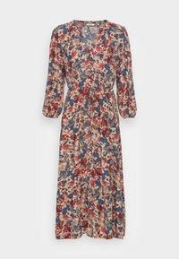 TOM TAILOR - DRESS PRINTED MIDI - Maxi dress - pink big design - 3