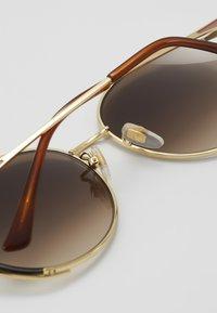 Gucci - Sunglasses - gold-coloured/brown - 5
