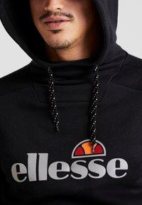 Ellesse - BARRETI - Jersey con capucha - black - 6