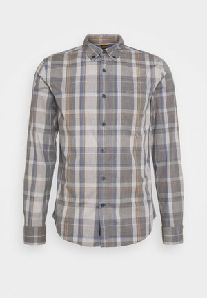 ALPHA ICON - Shirt - jamerson medium grey heather