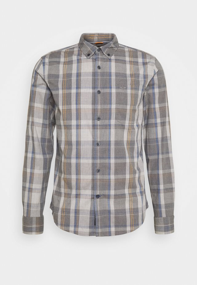 ALPHA ICON - Shirt - jamerson medium grey heather