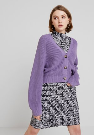 ZETA CARDIGAN - Strickjacke - lilac purple medium