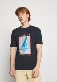 Newport Bay Sailing Club - BOAT 2 PACK - Print T-shirt - dark blue/grey marl - 2