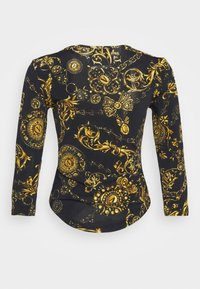 Versace Jeans Couture - Long sleeved top - black/gold - 7