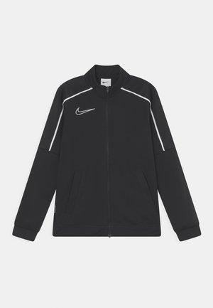 ACADEMY UNISEX - Sportovní bunda - black/white