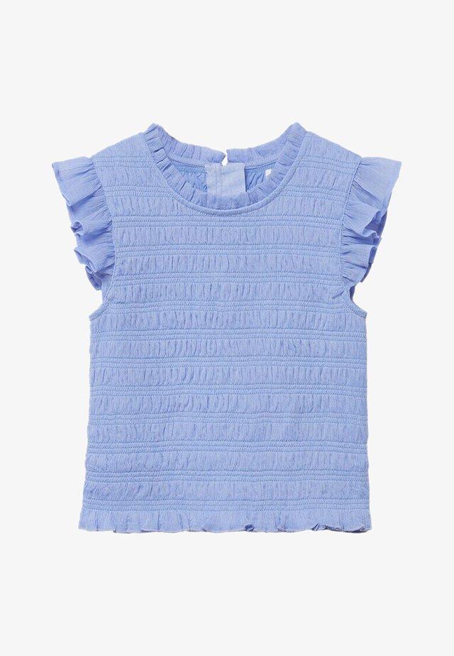 DEMIT-A - T-shirts print - violet clair pastel