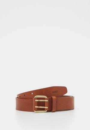 Pásek - mahogany