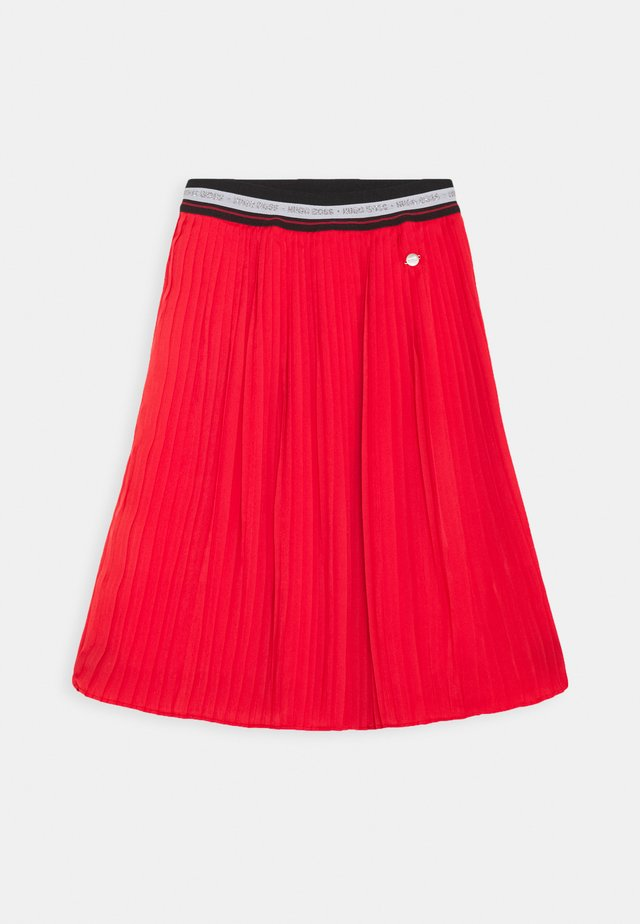 SKIRT - A-Linien-Rock - red