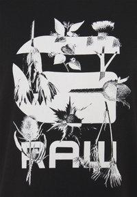 G-Star - LOGO THISTLE GYRE - Print T-shirt - black - 2