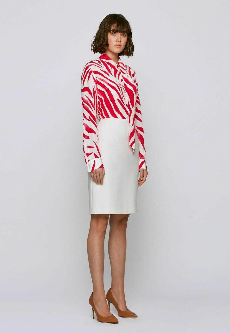 BOSS - BANSUMA - Button-down blouse - patterned