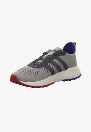 Trainers - grey, blue, red
