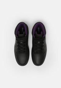 YOURTURN - UNISEX - High-top trainers - black - 3