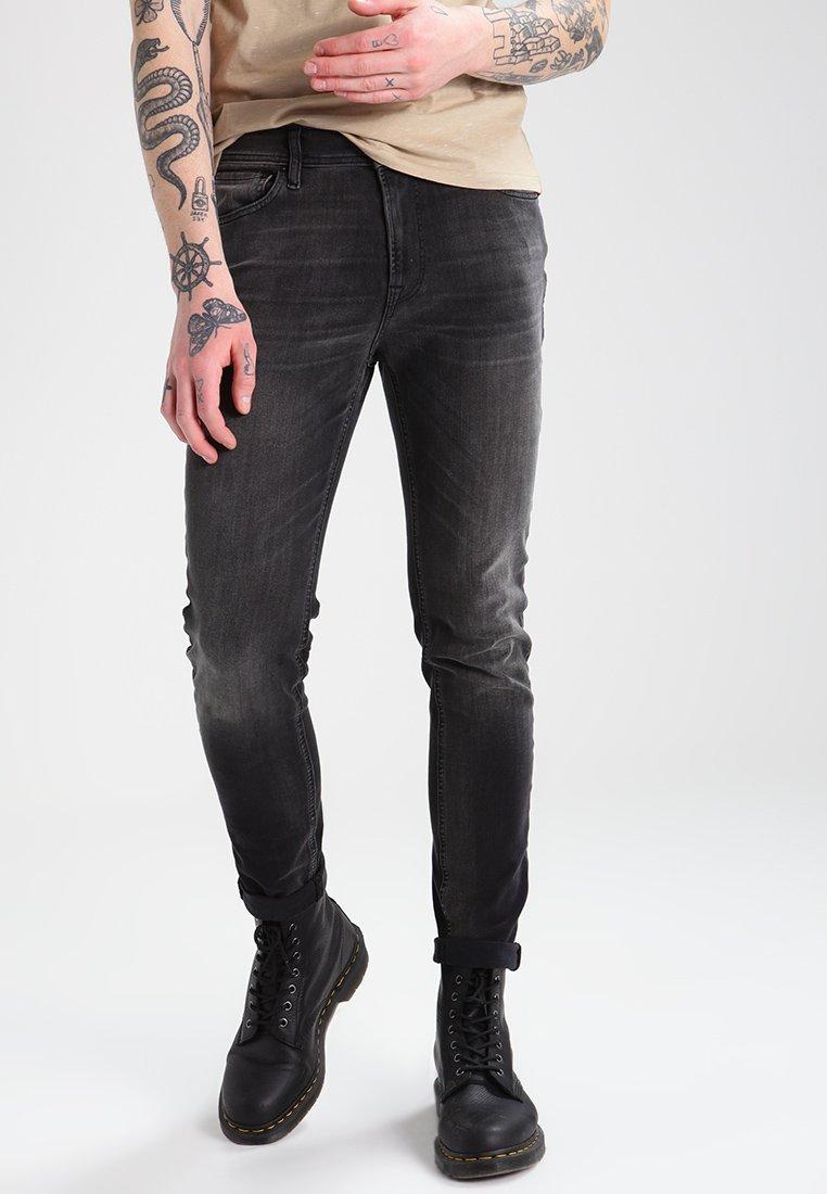 Men JJILIAM  - Slim fit jeans - black denim