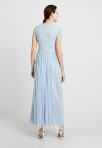 Lace & Beads - PICASSO CAP SLEEVE - Iltapuku - powder blue - 2