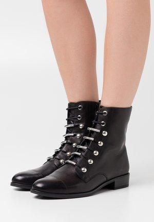 BARO - Šněrovací kotníkové boty - black