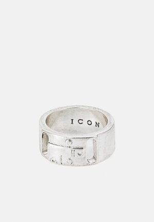 TRIBAL TECH FACE BAND - Ring - silver-coloured
