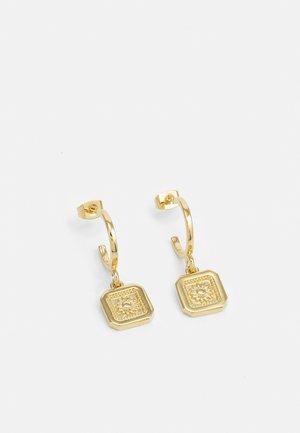 DAISY EARRING UNISEX - Earrings - gold-coloured