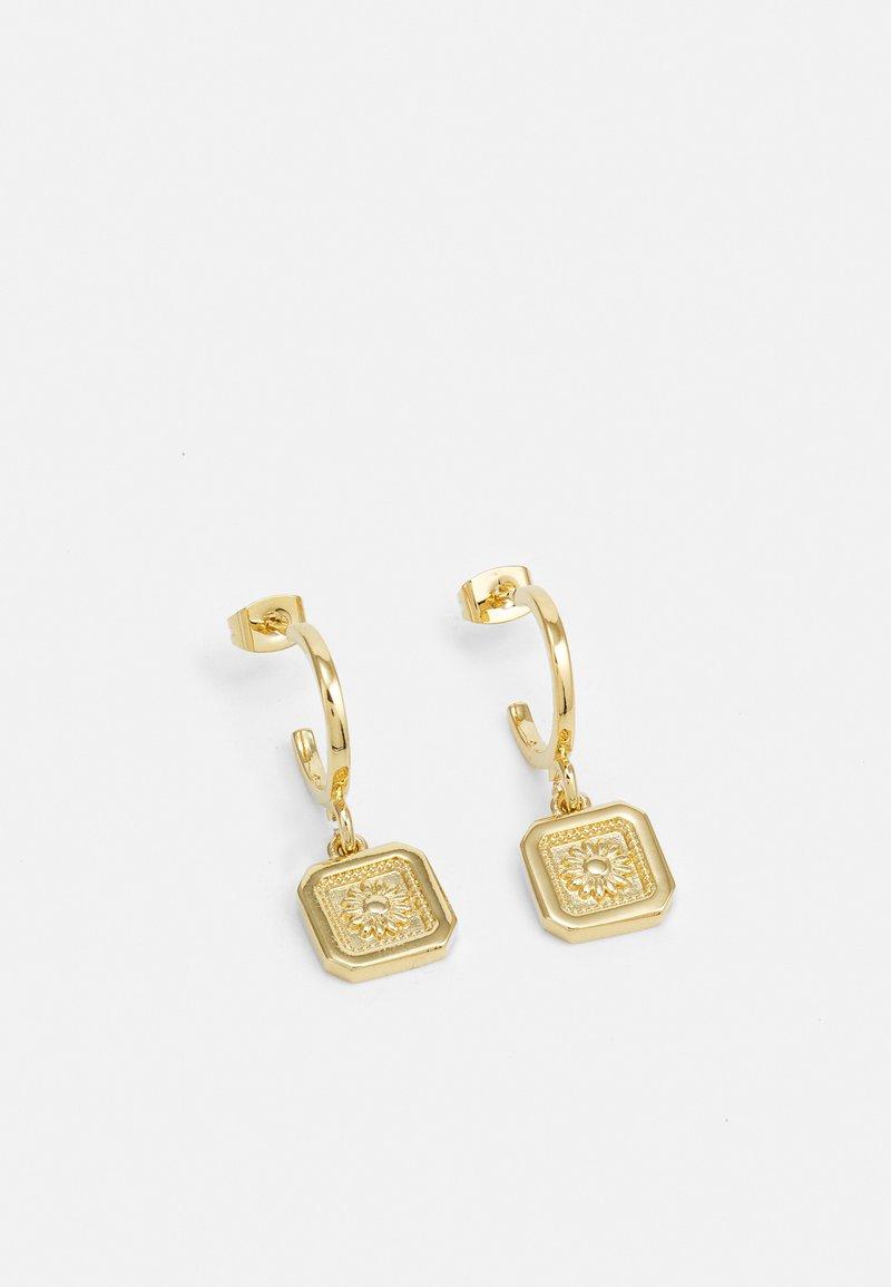 TWOJEYS - DAISY EARRING UNISEX - Oorbellen - gold-coloured