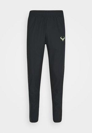 RAFAEL NADAL PANT - Tracksuit bottoms - black/volt