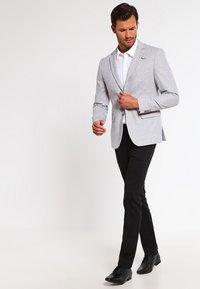 Pier One - Blazer jacket - light grey - 1