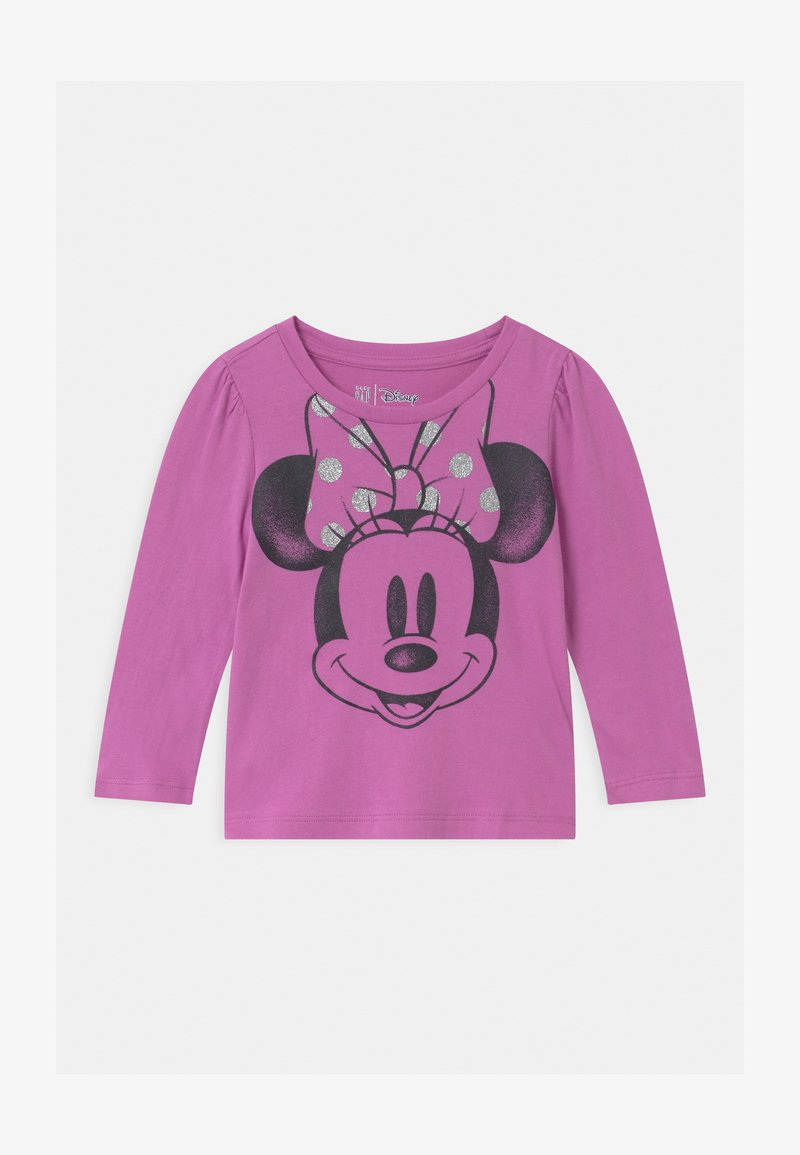 GAP - TODDLER GIRL DISNEY MINNIE MOUSE  - Top s dlouhým rukávem - purple