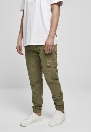 Cargo trousers - teagreen