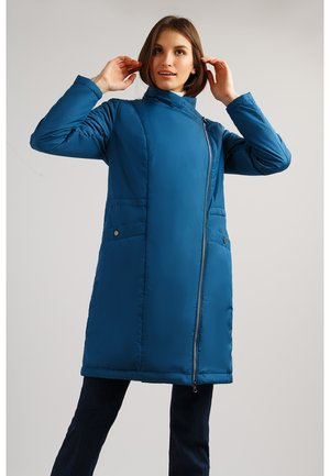MIT ASYMMETRISCHEM REISSVERSCHLUSS - Classic coat - orion blue