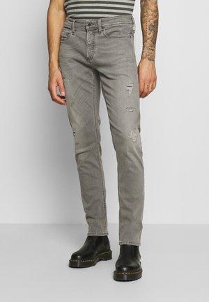RAZOR - Slim fit jeans - grey denim