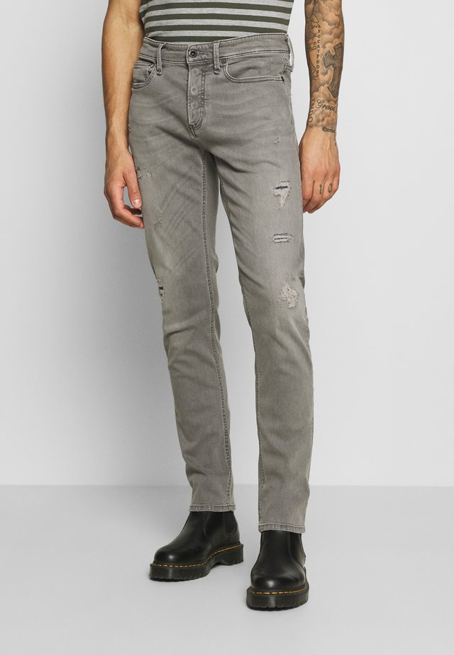 RAZOR - Jean slim - grey denim