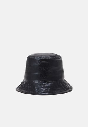 IKONIK BUCKET HAT - Sombrero - black