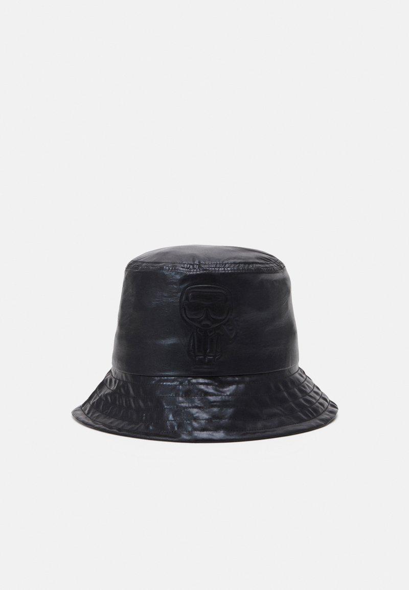 KARL LAGERFELD - IKONIK BUCKET HAT - Chapeau - black